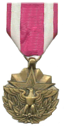Meritorious service medal for Air force decoration writing