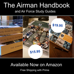 Picture of Airman Handbook and Air Force Study Guides